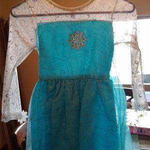 "Girls ""Elsa"" dress"